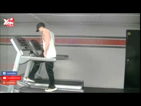 Màn tập thể dục trên máy chạy bộ khiến bạn gái chết mê