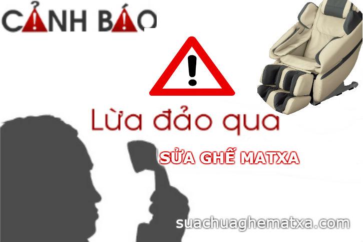 Cảnh giác chiêu trò lừa đảo sửa ghế matxa tại Hà Nội
