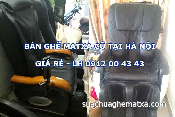 Bán ghế matxa cũ Hà Nội