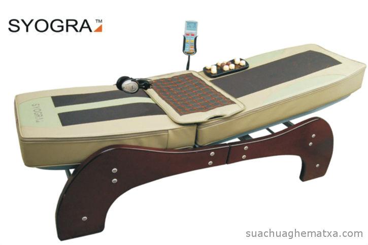 Sửa giường matxa Syogra