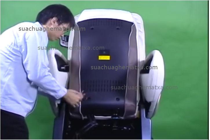 Sửa ghế matxa tại quận Gò Vấp
