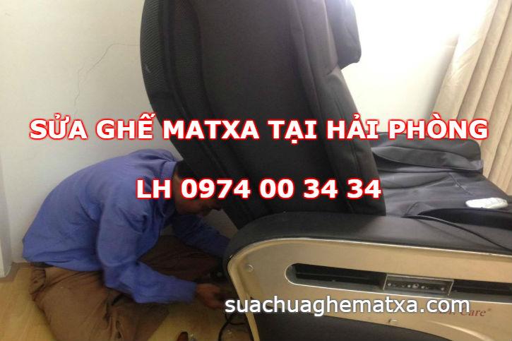 Sửa ghế matxa tại Hải Phòng