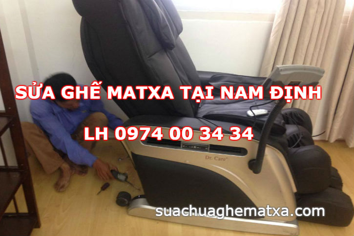 Sửa ghế matxa tại Nam Định