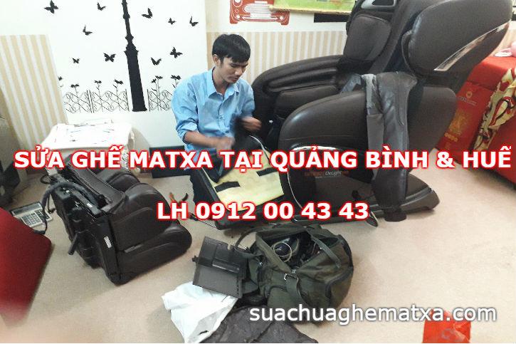 Sửa ghế matxa tại nhà ở Quảng Bình & Huế