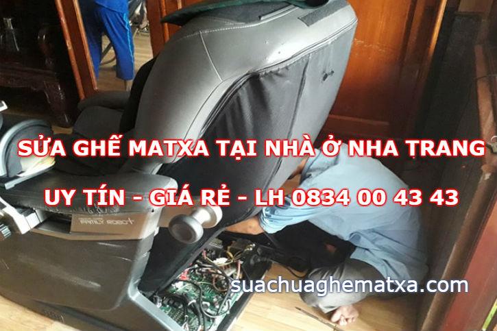 Sửa ghế matxa tại Nha Trang